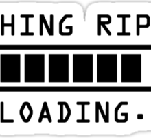 Sarcastic Comment Loading Scathing Riposte Sticker
