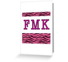 Fuck, Marry, Kill Greeting Card