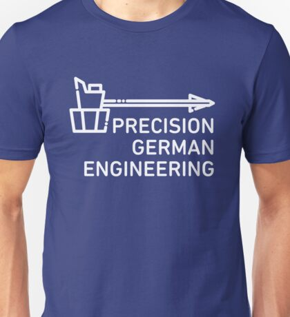 Precision German Engineering - Overwatch - Reinhardt Unisex T-Shirt