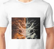 Bleached Bones of the Symmetrical Tree Unisex T-Shirt