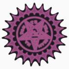 Ciel Demon Contract Symbol -Black by Xhex115