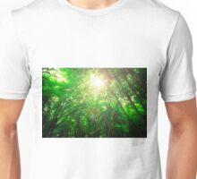 Endless Green Forest of Dreams Unisex T-Shirt