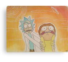 Rick & Morty Episode 1 Canvas Print