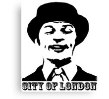 City of London - Graham Chapman Canvas Print