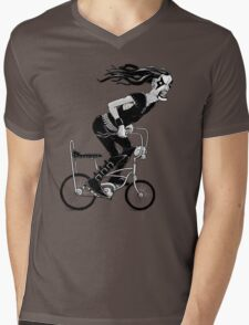 Metal to the Pedal Mens V-Neck T-Shirt