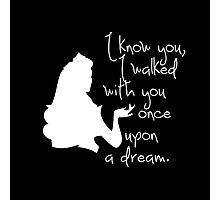 Disney Princesses: Aurora (The Sleeping Beauty) *White version* Photographic Print