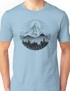 Sunset Mountain Unisex T-Shirt