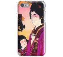 Japanese Telephones (1905) iPhone Case/Skin