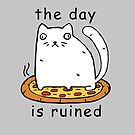 Rasabi Cat - The Day is Ruined by rasabi