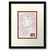 Highbury - Gillespie Road Framed Print