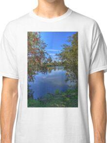 Bottle brush beside the lake Classic T-Shirt