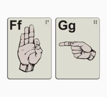 Dirty Sign Language Flash Cards by TheShirtYurt