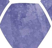 Soccer Ball Purple Sticker