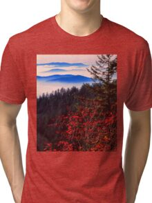 MORNING, BLUE RIDGE Tri-blend T-Shirt