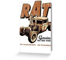 RAT - Pipes Greeting Card