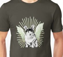 BAD dog – corgi carrying a knife Unisex T-Shirt