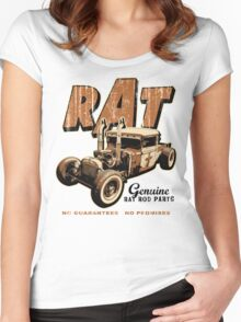 RAT - Pipes Women's Fitted Scoop T-Shirt