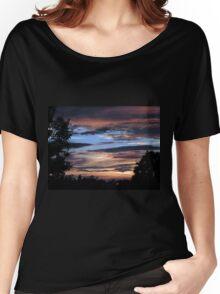 Firey Sky Women's Relaxed Fit T-Shirt