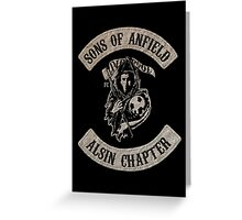 Sons of Anfield - Alsin Chapter Greeting Card