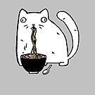 Rasabi Cat - Ramen Forever by rasabi