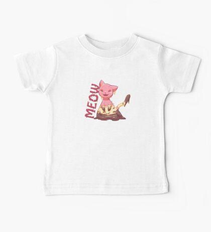 Icecream Kitty Baby Tee
