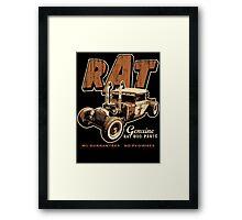 RAT - Pipes Framed Print