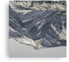 Triangle Mountains Canvas Print