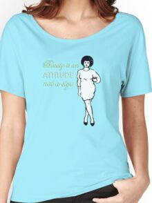 Curvy beauty: gorgeous green Women's Relaxed Fit T-Shirt