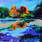 Cathedral Rock - Sedona by Elise Palmigiani