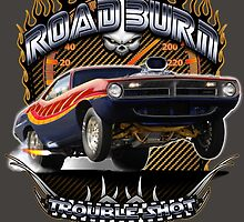 Muscle Car - Barracuda Road Burn by GET-THE-CAR