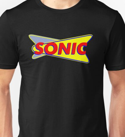 SONIC aMERICAN dRIVE fOOD IN Unisex T-Shirt