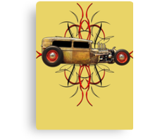 Pinstripe Rat Canvas Print