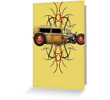 Pinstripe Rat Greeting Card