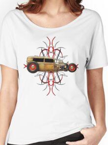 Pinstripe Rat Women's Relaxed Fit T-Shirt
