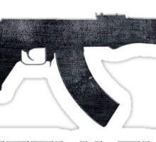 AK-47 Kalashnikov Perfectly Russian Sticker