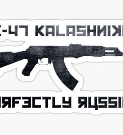 AK-47 Kalashnikov Perfectly Russian Sticker