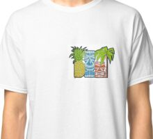 Pineapple Tiki Hut Classic T-Shirt