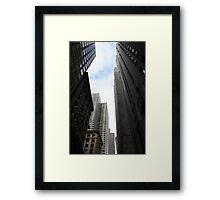 Urban Gorge Framed Print
