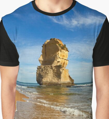 Ocean Rock View Graphic T-Shirt
