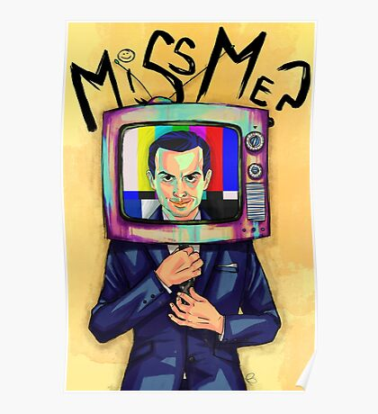 Moriarty - Miss me? Poster