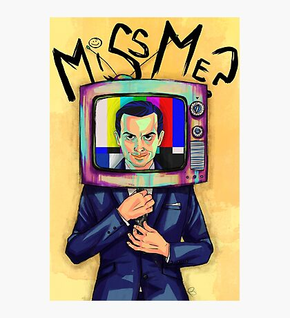 Moriarty - Miss me? Photographic Print