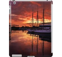 Rainbow Harbor sunset for iPad iPad Case/Skin