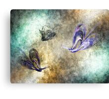 Flight of the butterfly Canvas Print