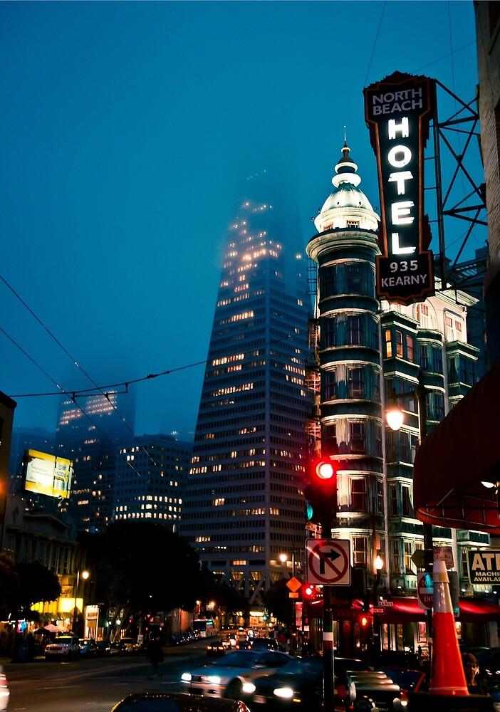 San Fran Evening by Zak Milofsky