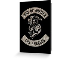 Sons of Anfield - Los Angeles Greeting Card