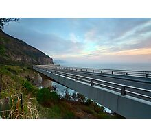 Sea Cliff Bridge, Coalcliff NSW Photographic Print