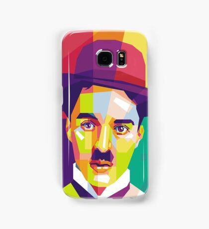 Charlie Chaplin Pop Art WPAP Samsung Galaxy Case/Skin