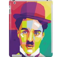Charlie Chaplin Pop Art WPAP iPad Case/Skin