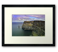 Dramatic Cliffs Of Moher, Framed Print