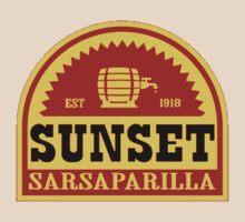 Sunset Sarsaparilla T-Shirt